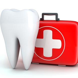 tooth and first aid box