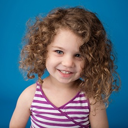 Child with healthy smile