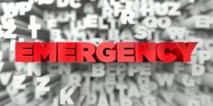 3D emergency concept